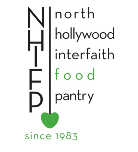 Client: North Hollywood Interfaith Food Pantry (NHIFP)  I am inspired by wonderful organizations doing amazing work.  This is the case for NHIFP.  It was important for me to brand their acronyms as well as the full name.  Since this organization is all about feeding the hungry, it had to stand out.  FOOD + love are paired with color.