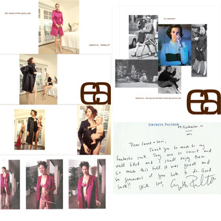 EDWARD AN  creative direction + design  brand statement, seasonal look book, sweet thank you note from gwyneth paltrow