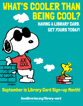 National Library Card Sign-Up Month
