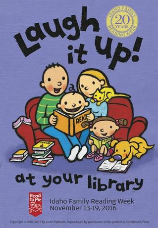 Idaho Family Reading Week