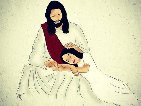 Um lugar de descanso... os braços do Pai