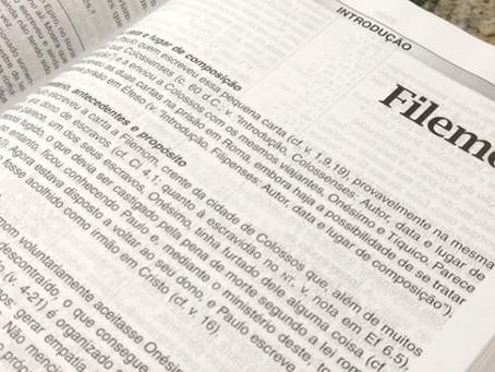 Filemom - Leitura Bíblica Diária