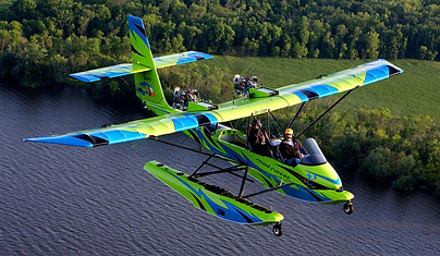 Amphibian flight training in venice florida
