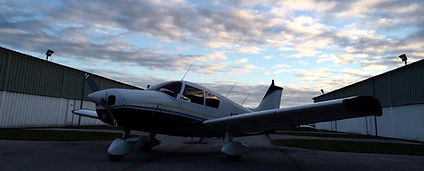 Piper cherokee used for flying lessons in Sarasota and Venice