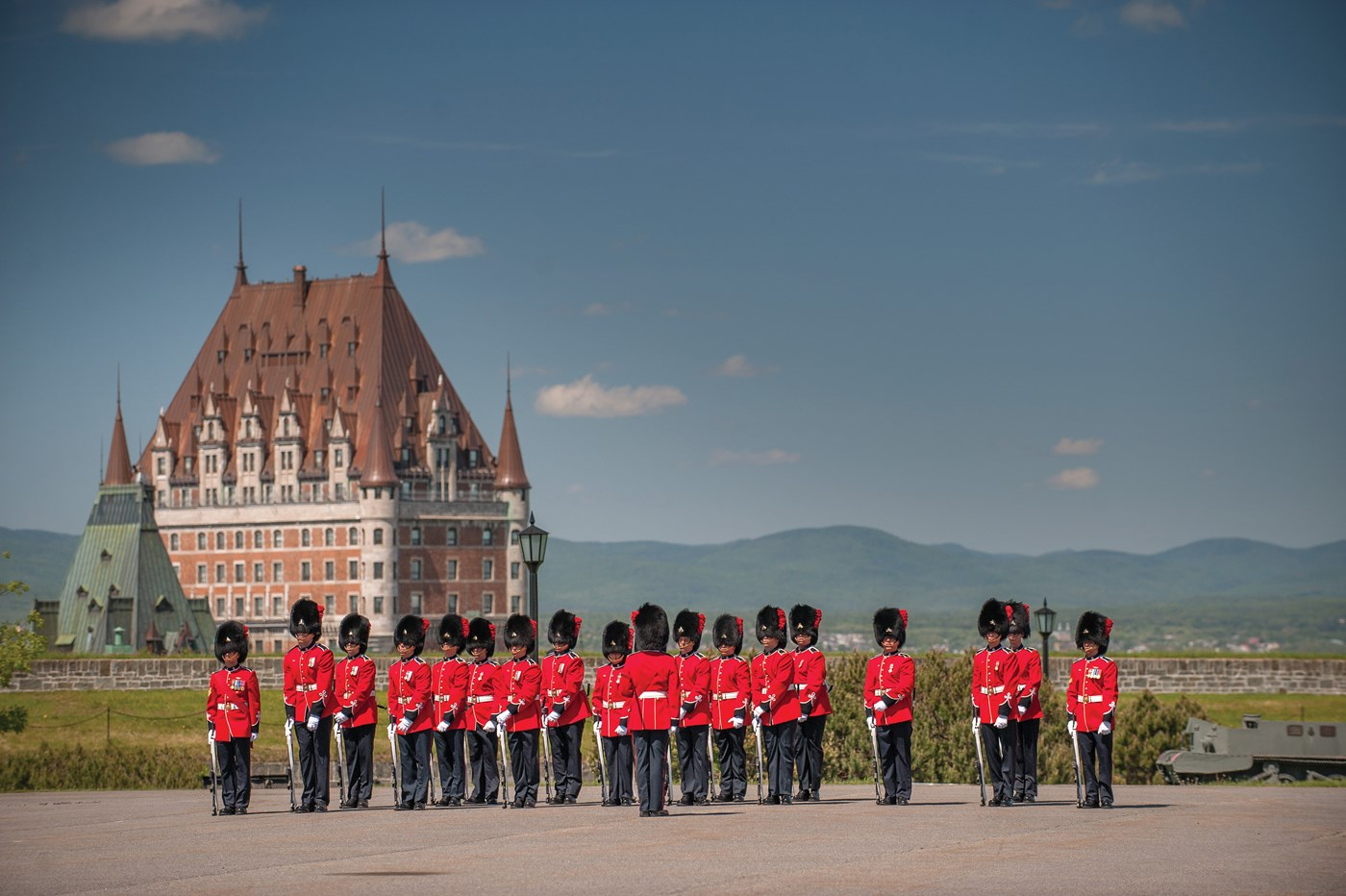 Changing Guard ceremony