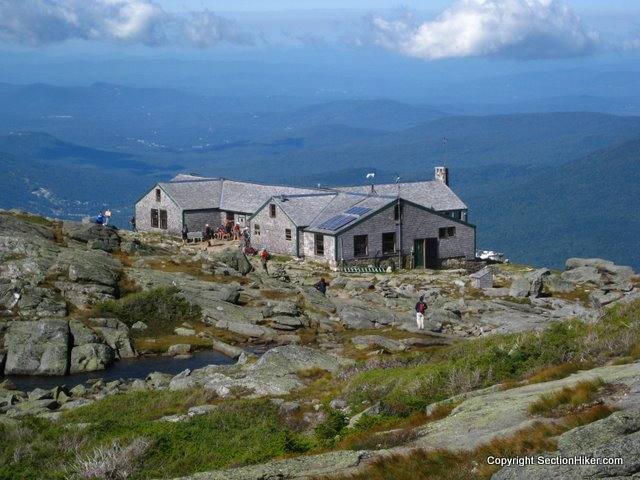AMC Lake of the Clouds Hut, White Mountains