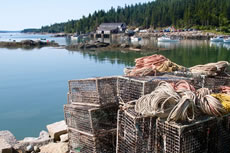 Visiting fishing villages