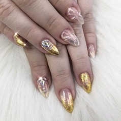 Your nails are like jewels don't use the