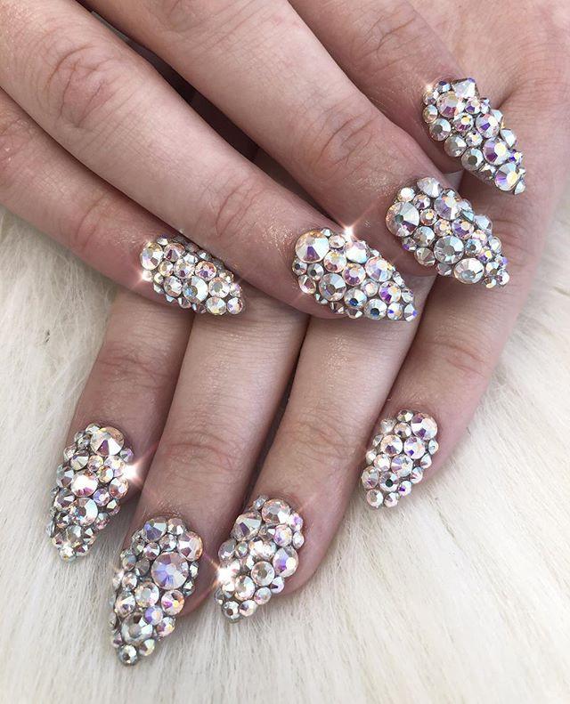 Bling bling! 💍💍💍💍💍💍💍💍💍💍_Nail t