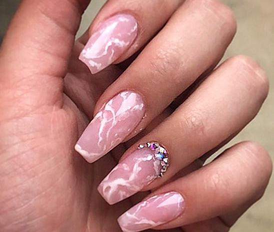 Loving this MARBLE!_ #marblenails #nails