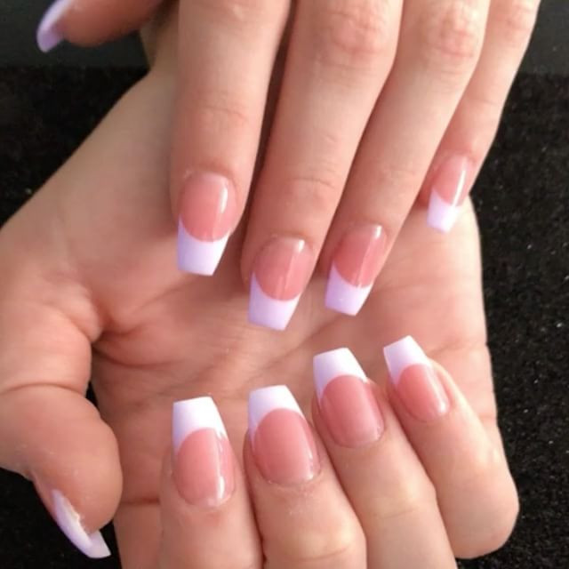 Keeping it classy with pink and white wi