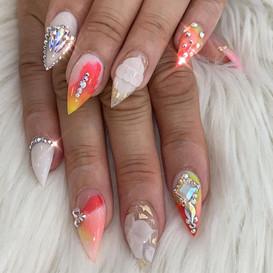 Let us be bright! 💛__#nail #nails #nail