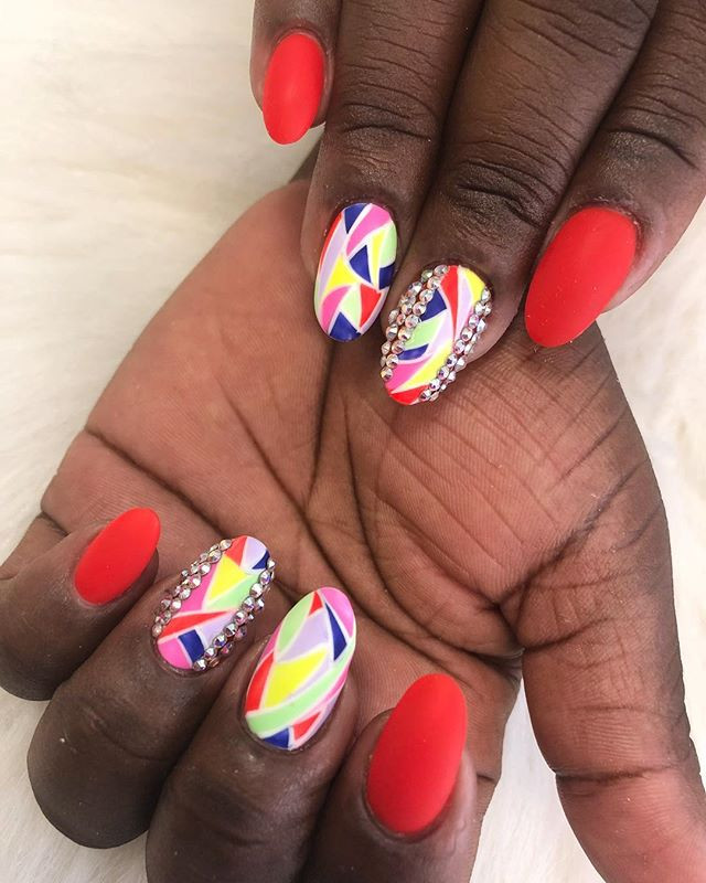 Drippin in FINESSE 😎 _#nails #nailsofin