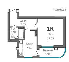 План (подъезд 2)