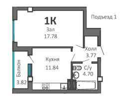План (подъезд 1)
