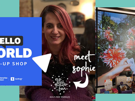 Need some eco-retail therapy? Visit Hello, World pop up, London 11 - 13 May