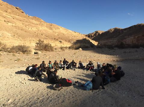A journey in the desert