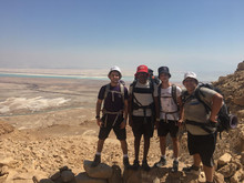 מטיילים במדבר
