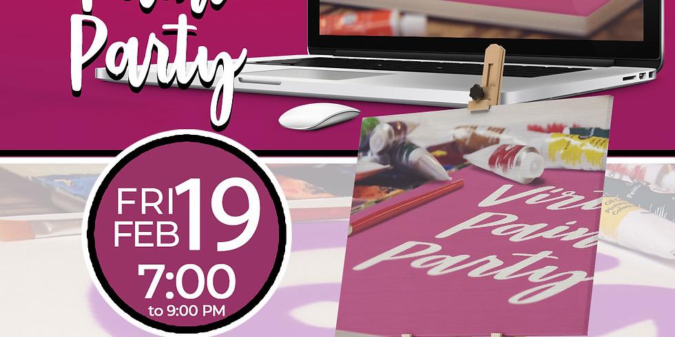 Virtual Paint Party
