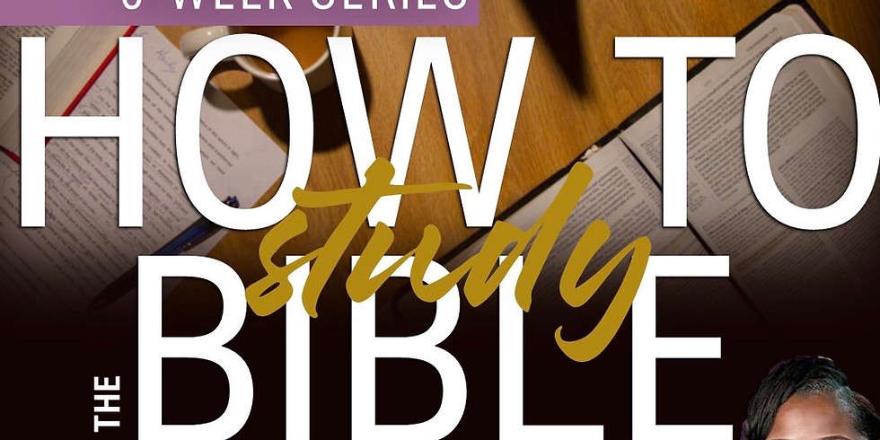How to study the Bible Sessions