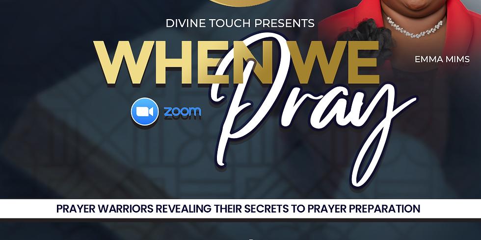 When we Pray!!