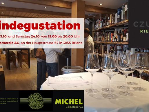 My first wine tasting in Switzerland postponed due to Corona and local regulations