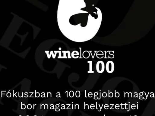 The dry CZURDA Riesling is selected under the best 100 Hungarian wines!