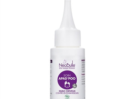 SOIN APAD'POO - HUILE CHEVEUX NEOBULLE (50 ML)