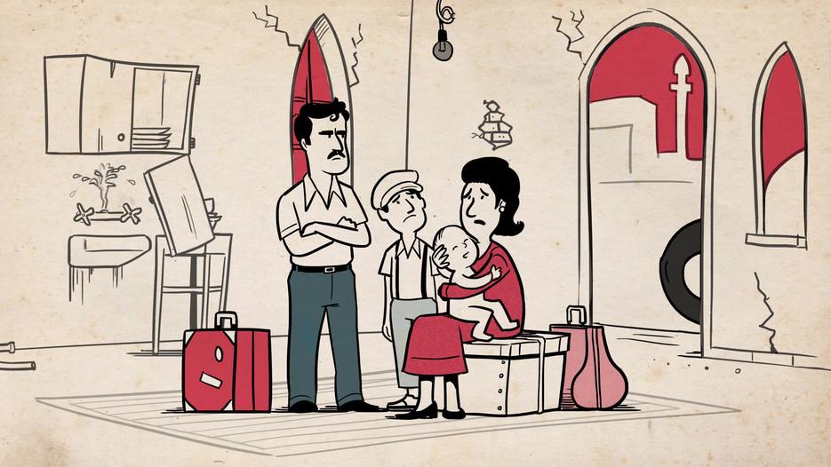המכון למורשת בן גוריון | ואדי סאליב | סרט אנימציה לתערוכה
