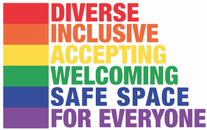 Diverse, Inclusive, Accepting, Welcoming