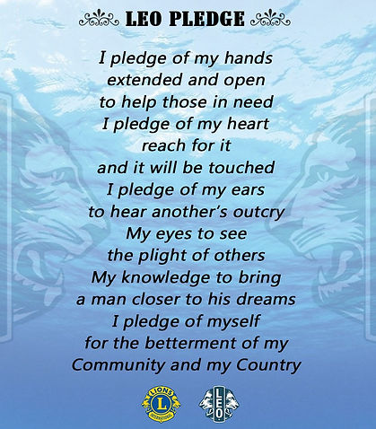 LEO Club Pledge.jpg