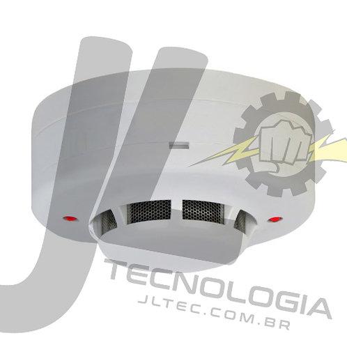 Sensor / Detector de Fumaça com Saída Relé NA tipo Convencional