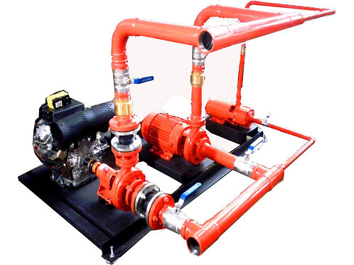 Manutenção grupo geradores e Motobombas para sistemas de elétrica e incêndio