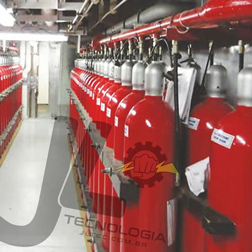 Sistema de Supressão CO2 de Alta e Baixa Pressão