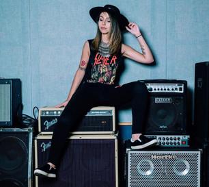 Larissa Giampaoli slays as creative producer for grammy-winning band