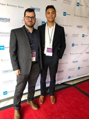 Canadian Composer Michael Shlafman attends prestigious Greenwich International Film Festival