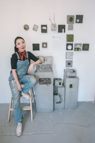 Sasinun Kladpetch impresses with her artistry at DZINE exhibition