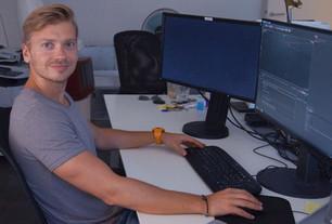 Motion Graphics Designer Ilya Tselyutin works with Mercedes and Formula One