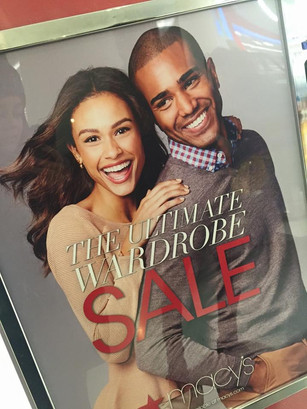Model Francois Angoston is face of Macy's