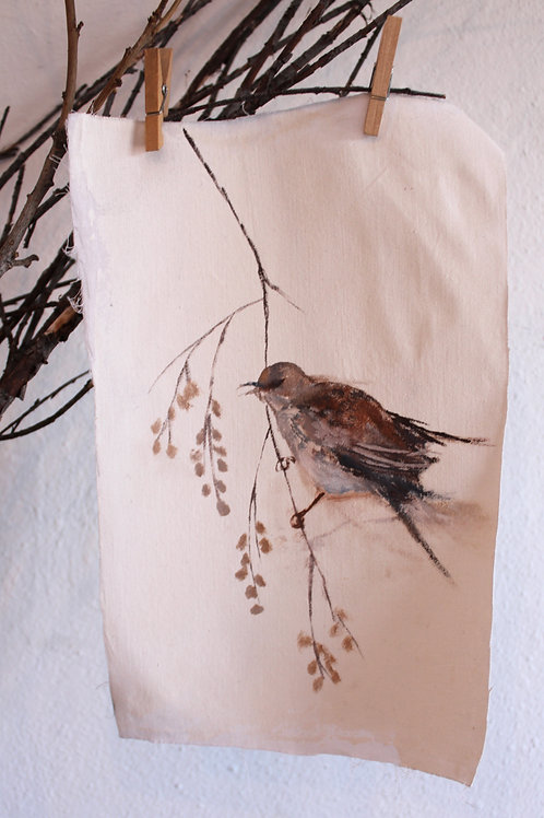 Paint Your Own Winter Thrush