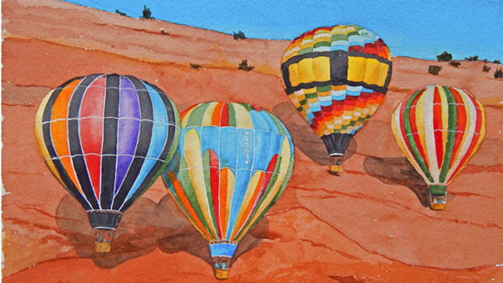 Red Rocks Balloon Rally