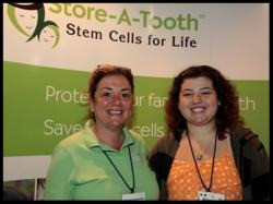 Family Attending the Children with Diabetes Conference Banked their Daughter's Dental Stem Cells