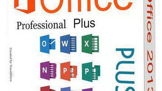 Microsoft Office Professional 2013 - 32/64 Bit Key Serial License