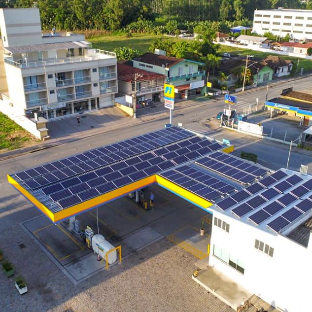 Instalação de placas fotovoltaicas