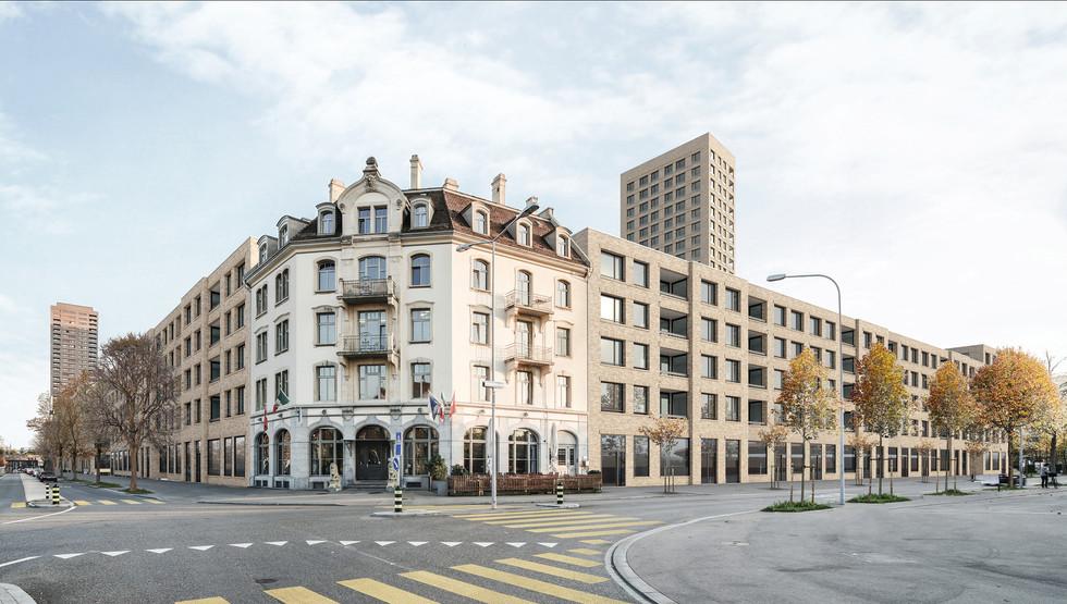 ETH Architektur Masterarbeit   Städtebauliche Intervention