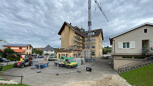 Baustelle_Schulhaus Vordemwald 2020_07_0
