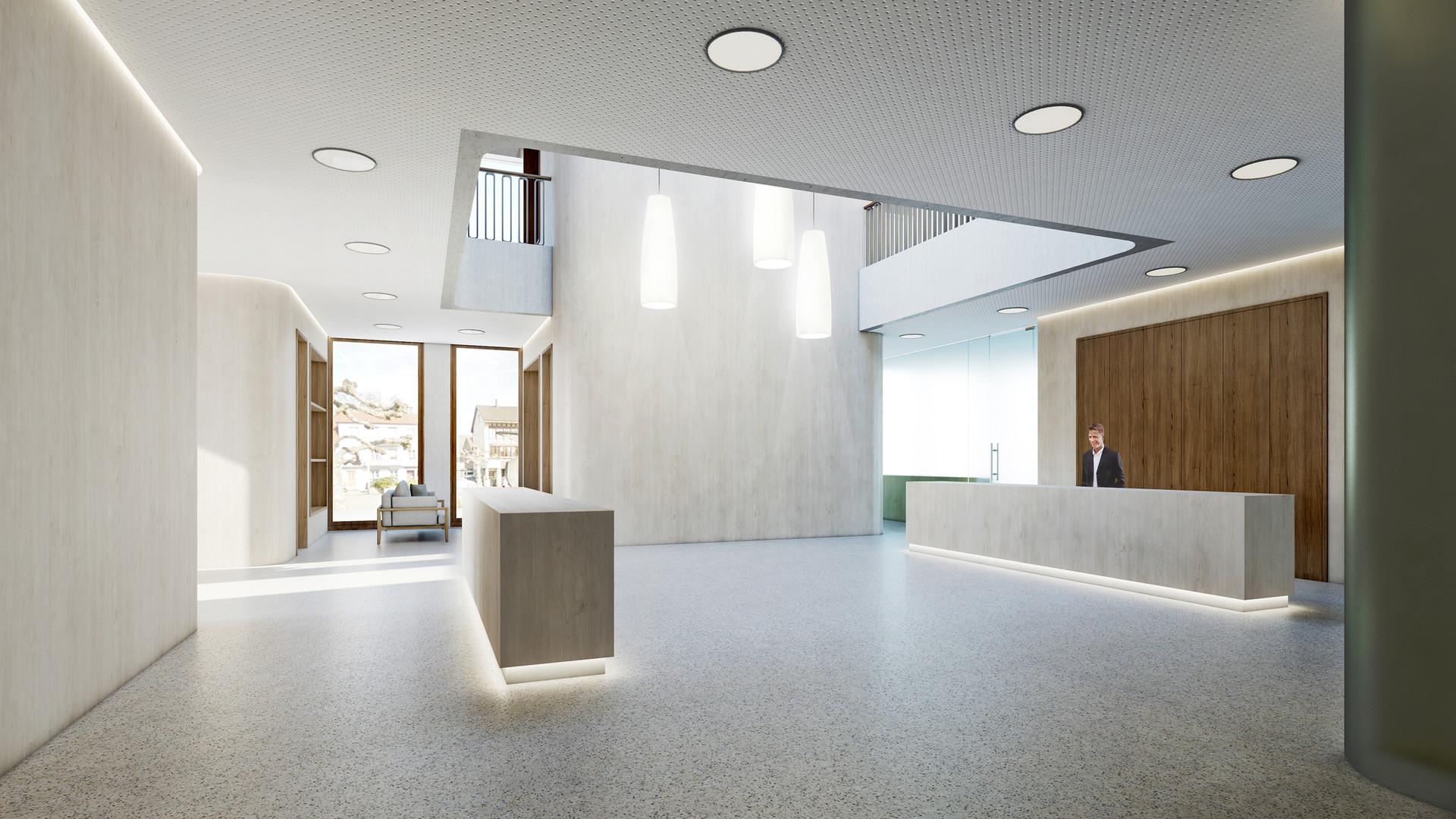 Wettbewerb Umbau Raiffeisenbank