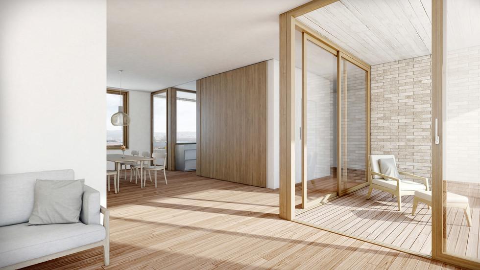 ETH Architektur Master   Die Wohnungen