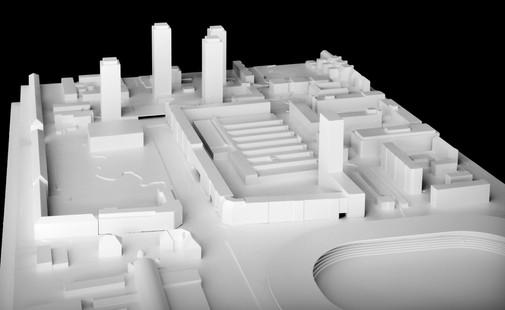 ETH Architektur Masterarbeit | Städtebauliche Klammer
