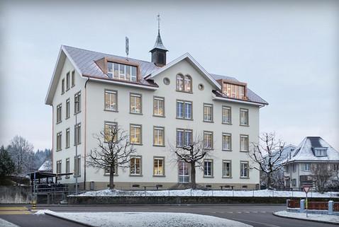 Schulhaus Vordemwald   Perspektive Südost